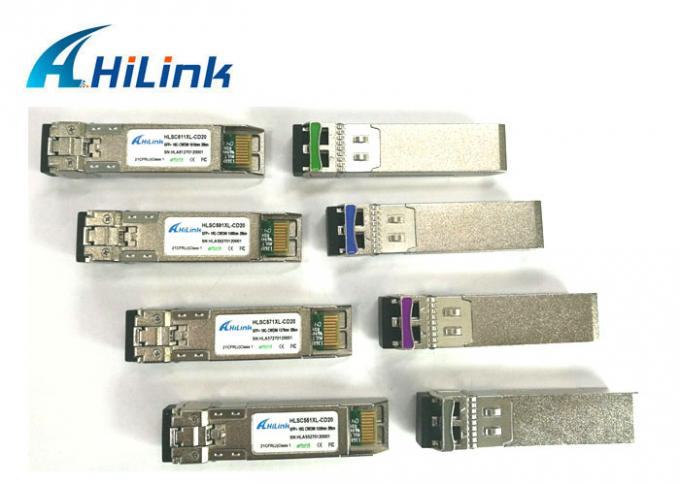1350nm - 1450nm Duplex LC SFP Transceiver Small Form Factor Pluggable Plus OEM ODM