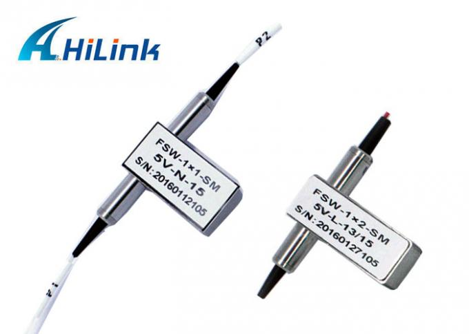 2X2B Mechanical Optical Switch Low Insertion Loss For OADM System / Metropolitan Area Network