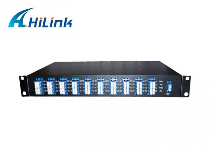 Passive Multiplexer 40ch AWG Duplex dense wave division multiplexer LC / UPC connector