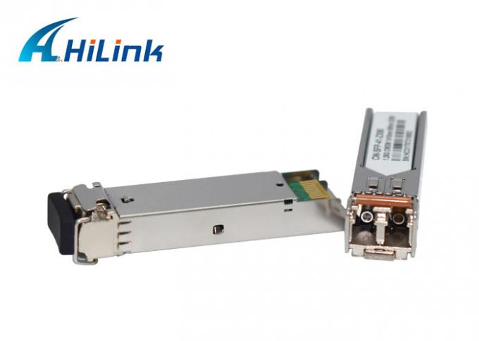 CWDM MUX Modules Optical Transceiver Module 1.25G SFP 80KM 1410nm LC DDM -25dB with isolator