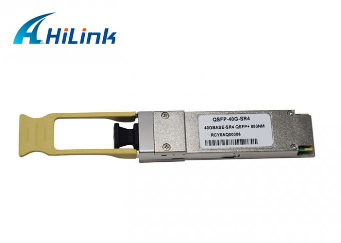 Compatible With Most Switches QSFP+ 40GBASE-SR4 MMF 850nm 150M MPO Transceiver