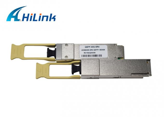 Compatible With Most Switches QSFP+ 40GBASE-SR4 MMF 850nm 150M MPO Transceiver 2