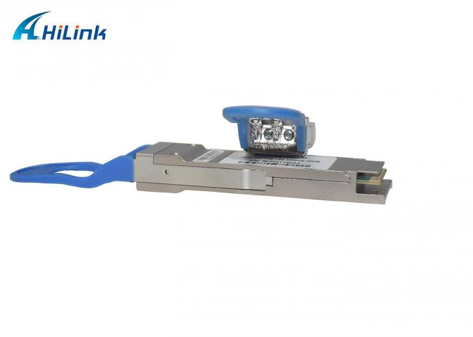 Long Distance QSFP+ Transceiver Stable Data Rate 100G 1310nm Wavelength