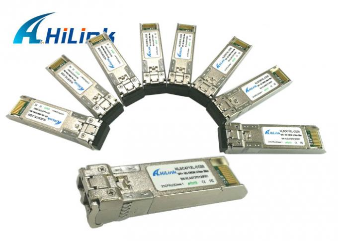 10G Ethernet Optical Transceiver Duplex LC Interface Support Hot - Pluggable