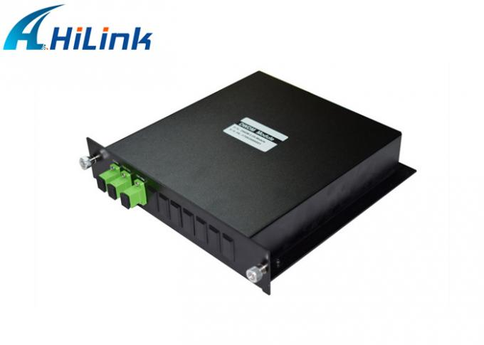 HL-DWDM - MUX/DEMUX ABS Box 8CH 100GHz DWDM Module With 0.8nm Channel Spacing