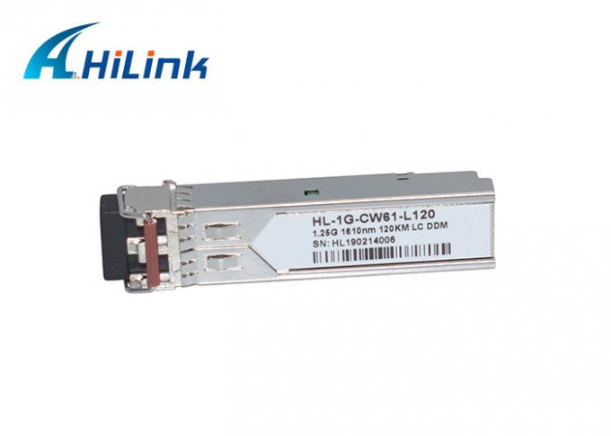 Long Distance CWDM Multiplexer SFP 1270-1610nm 1.25G 120km Fiber Optic Transceiver