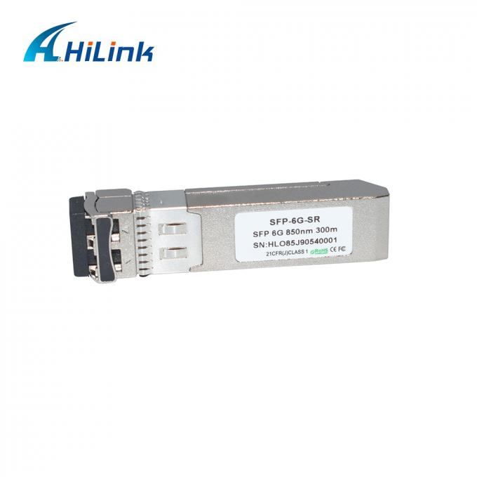 SFP+ Multimode DOM Optical Transceiver Module 850nm SFP-6G-SR 300M LC Connector