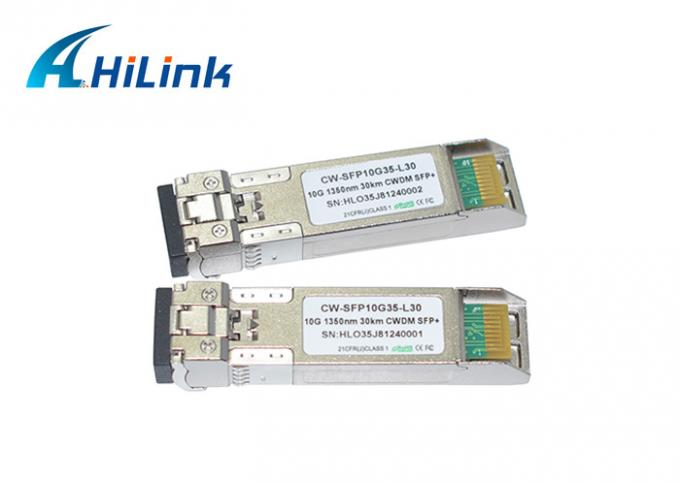 Duplex LC CWDM 10G 20KM SFP+ Optical Transceiver