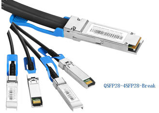 100G QSFP28 to 4SFP28 Direct Attach Cable (DAC) 100G Breakout PCC cable 1M