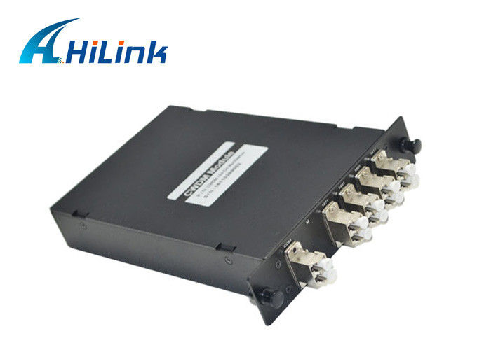 High Performance CWDM Fiber Optic Multiplexer -40°C - 85°C Operating Temperature