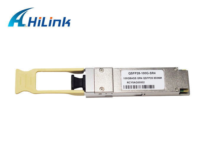 100Gb / S QSFP Optical Transceiver 850nm Wavelength MTP Connector