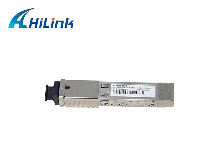 GPON STICK ONU SFP Fiber Optic Module  SC Connector 1.25G / 2.5G
