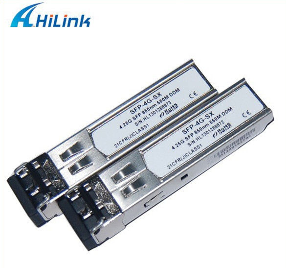 550m Fiber Optical Sfp Module 4.25G 850nm 550m Sr Sfp Support DDMI Function