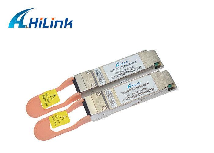 40km Optical QSFP+ Transceiver 1295/1300/1304/1309nm SMF LC