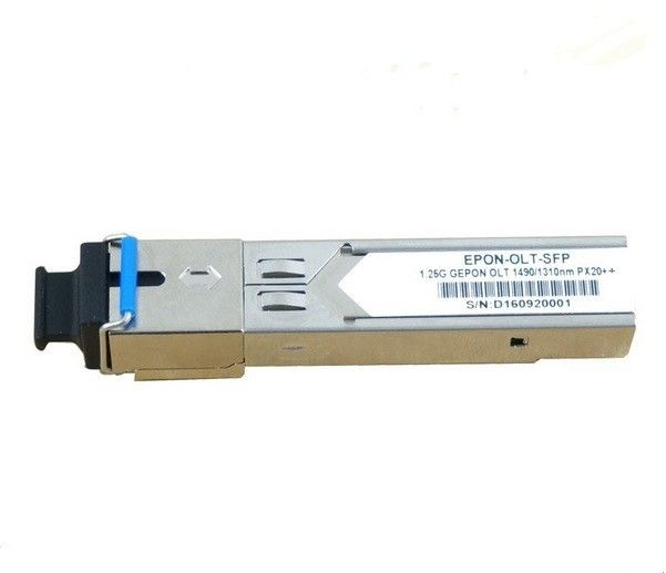 GEPON OLT PX20++ Optical Transceiver Module 30km Tx 1490nm 1.25G Rx 1310nm 1.25G