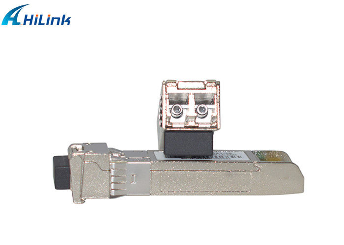 Metal SFP+ Transceiver Module 100km Dwdm Sfp 10g 1559.79nm Wavelength C22