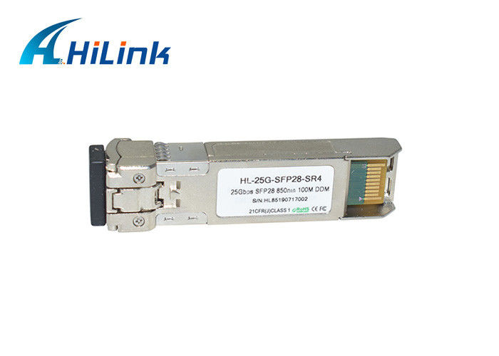 25g sfp28 Optical Module , QSFP+ Optical Transceiver 25G MMF 850nm