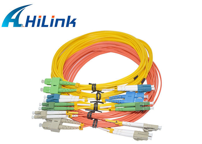 Factory Customized patch cord/pigtail SC LC ST FC MU APC UPC Fiber Cable Simplex Duplex SM/MM