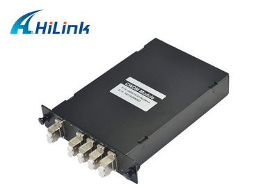China Low Insertion Loss CWDM Mux Demux Module , CWDM Fiber Optic Mux 1270nm - 1610nm distributor