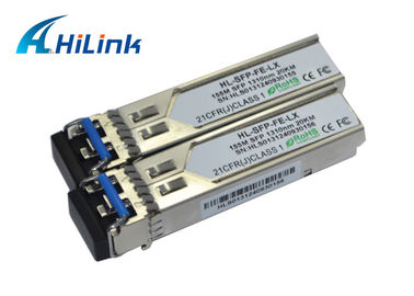 China Professional 155M 100base SFP Transceiver Module 20km 1310nm Wavelength LC DDM factory