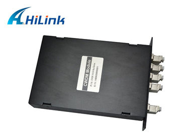 China FC / SC / ST CWDM Fiber Mux LGX Module Optical Multiplexer And Demultiplexer factory