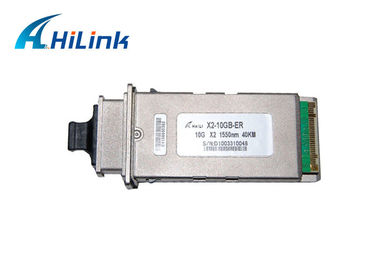China 10.3125Gbps 1550nm X2 transceiver module , Single Mode Transceiver ER-40KM factory