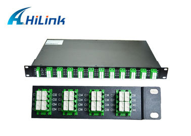 China Data Centers 40 Channel DWDM Multiplexer Demultiplexer Compact Designed factory