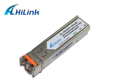 China 1.25G 80KM SFP CISCO  Fiber Optic Transceiver Module CWDM-SFP-1570 factory