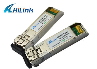 China 1330nm / 1270nm SM 10gb SFP+ Module Fiber Channel Transceiver 40KM CE FCC Certification factory