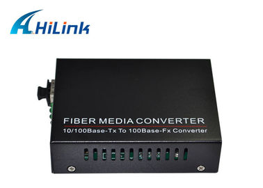 China Netaxcess 10 / 100Base TX To 100Base FX Media Converter LC Connector With SFP Port / Rj45 factory