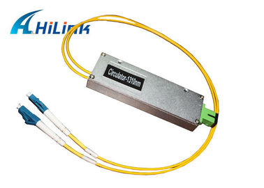 China Low Back Reflection Optical Circulator 3 Ports Fiber Module With LC Connector distributor