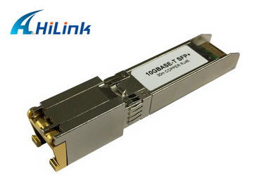 China Cisco Compatible Copper SFP+ Transceiver Module SFP - 10G - T RJ45 connector factory