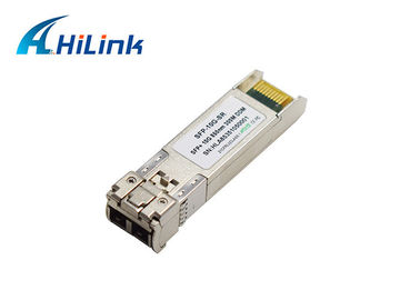 China Multimode Dual LC 10G 850nm 300m SR SFP+ Transceiver Module For Ethernet and Fiber Channel factory