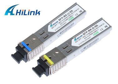 China WDM 1.25G SFP Module 3/20KM  LC/SC Connector SFP Fiber Transceiver distributor