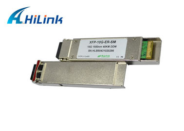 China Multi - rate XFP Optical Transceivers 10G BASE-ER/EW Ethernet 10Gb/s 40km 1550nm factory