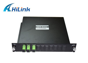 China Red And Blue Dense Wavelength Division Multiplexer For C - Band Singel Fiber distributor