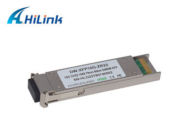 China 10GBase-ZR XFP Optical Transceiver 10G CH17-CH61 C- Band 80KM ZR DWDM Type factory