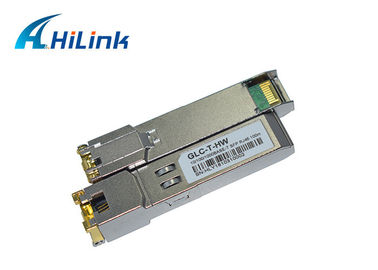 China GLC-T Optical Transceiver Module RJ45 10/100/1000 Base Copper SFP Form Type factory