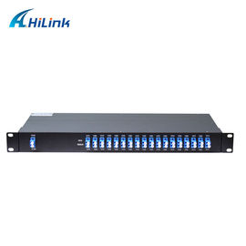 China 1X18 CWDM Mux Demux Module 1260nm-1620nm Wavelength High Isolation Compact Design distributor