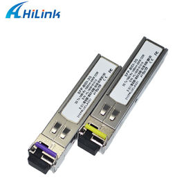 China Bidi Sfp Optical Transceiver 3G SFP BIDI Transceiver 1310TX/1550RX LC/SC factory