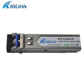 China Finisar Optical SFP Transceiver 4G Single mode 1310nm LR Optical SFP Module factory