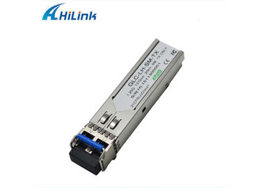 China SFP Transceiver Module Hilink 20Km 1.25G Dual Compatible SFP 1310nm LC Connector factory