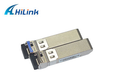China 10G Sfp Optical Module Single Fiber LC/SC Connector 1270/1330nm 20km DOM factory