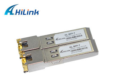 China 1000M SFP-T Cisco Compatible SFP RJ-45 Connector SFP Module GLC-T Copper distributor