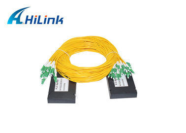China Passive FTTH Fiber Optical Splitter 1x32 PLC SC/LC Connector 1260-1650nm Low PDL distributor