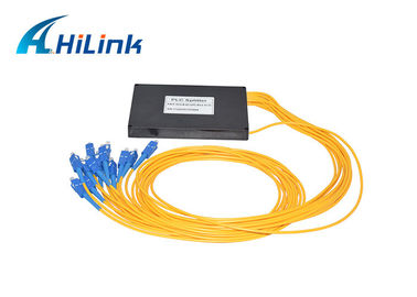 China FTTH 3.0 Optical Transceiver Module Splitter 1x12 PLC SC UPC Connector New Condition distributor