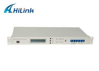 China Low Insertion Loss Fiber Optic Wdm OLP Optical Line Protection System LC/UPC Managed Chassis distributor