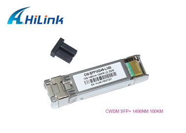 China 1490nm Wavelength Sfp Optical Transceiver Module 10Gb/S CWDM 100km Distance distributor
