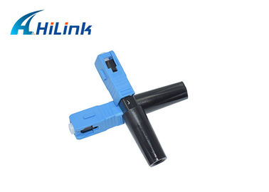 China Optical Fast Connector WDM Fiber Optic FTTH SC APC UPC Connector 5cm Length factory