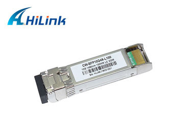 China CWDM SFP 10G 100Km SFP+ Transceiver Module 5G High Speed Transmission Network 1490nm distributor